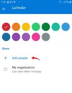 How do I share Outlook mobile calendar | 5 Minute Help Desk