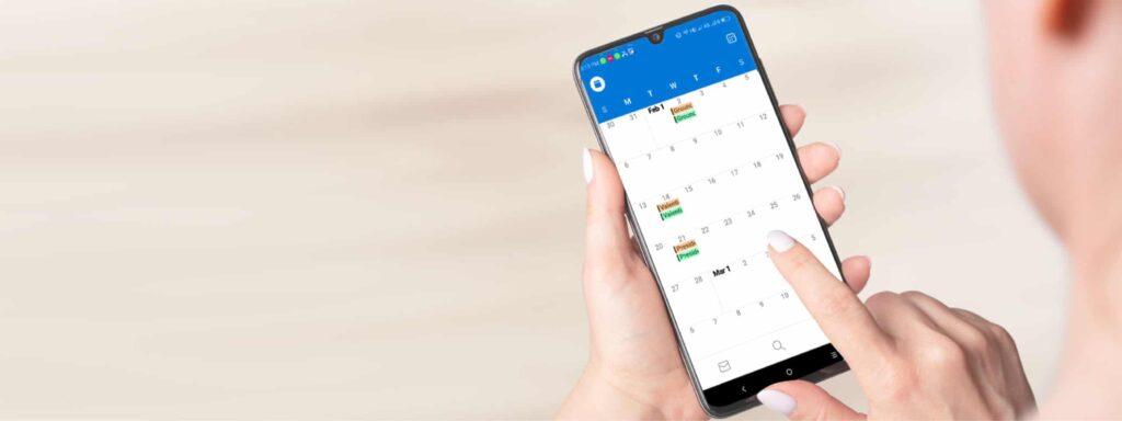 How do I share Outlook mobile calendar   5 Minute Help Desk