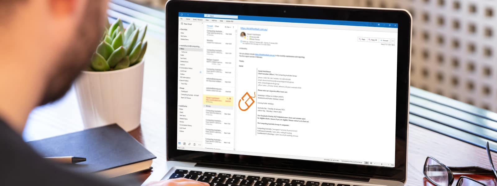How to Create A Perfect Email Signature | 5 Minute HelpDesk