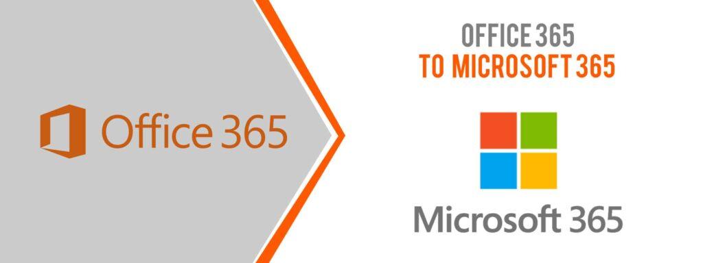 Microsoft Office 365 Name Change to Microsoft 365 | Computing Australia