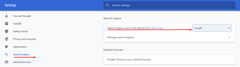 How do I Change My Default Search Engine   Computing Australia