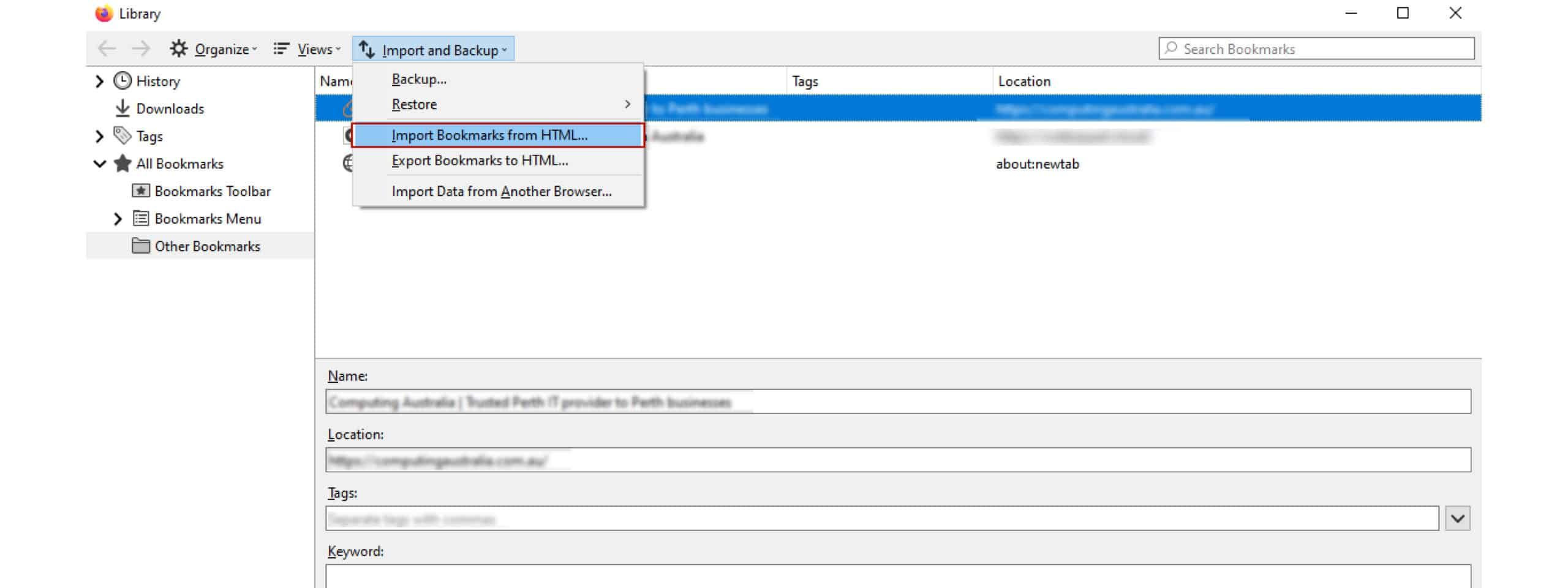 How to Back up and Migrate Your Bookmarks   5 Minute HelpDesk